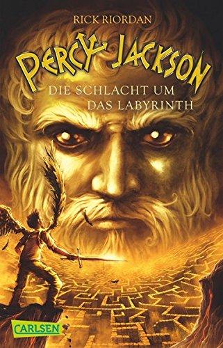 Percy Jackson - Die Schlacht um das Labyrinth (Percy Jackson 4) Taschenbuch – 23. Mai 2012 Rick Riordan Gabriele Haefs Carlsen 3551311560