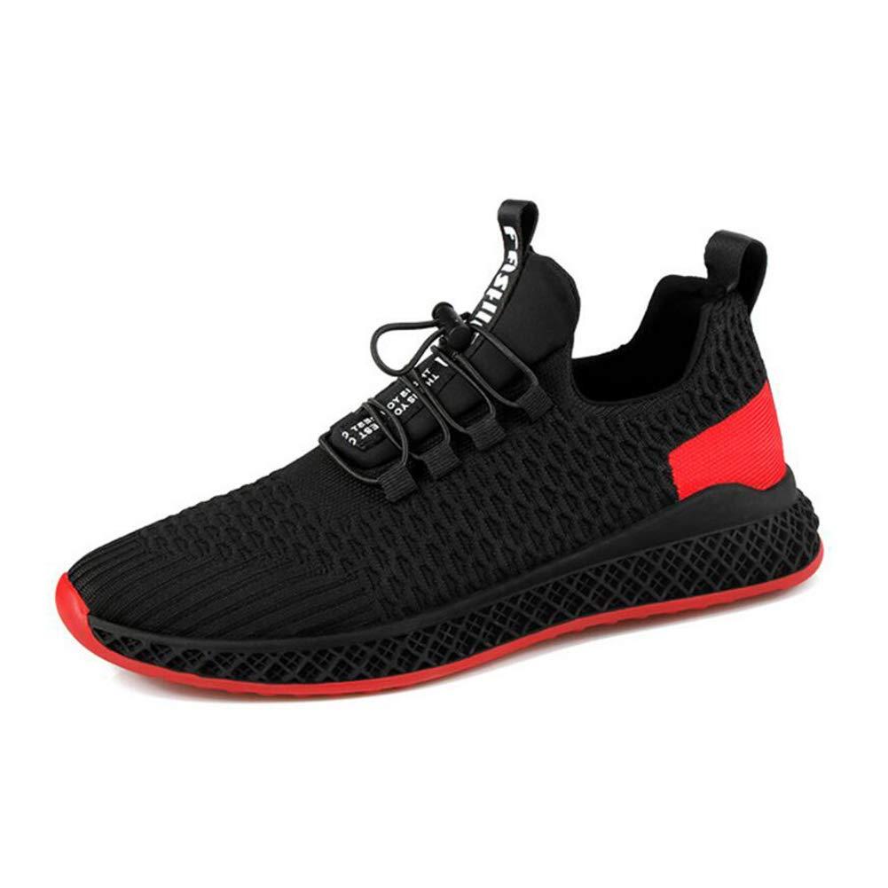 WYX WYX WYX Schuhe Herren Sportschuhe Casual Laufschuhe Walking Jogging Turnschuhe Komfortable Atmungsaktive Mode Trainer Athletic Mesh Schuhe im Freien (Farbe   Schwarz Größe   40) 767aec