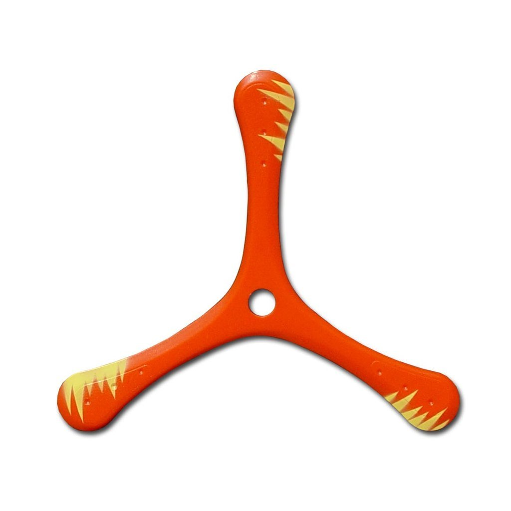 Wildfire Boomerang - Tri Blade Fast Catch Sport Boomerangs from Colorado Boomerangs. by Colorado Boomerangs