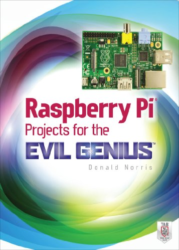 Raspberry Pi Projects for the Evil Genius cover