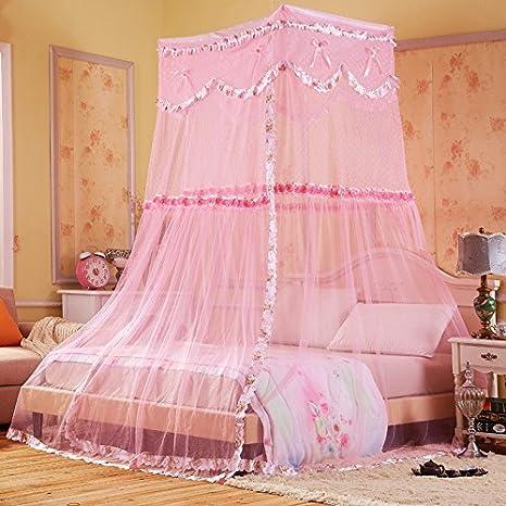 Buluke Principessa Stile zanzariera ragazza in camera da ...