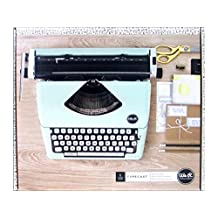 American Crafts 663062 Typewriter We R Memory Keepers Typecast Mint Typewriter,Mint