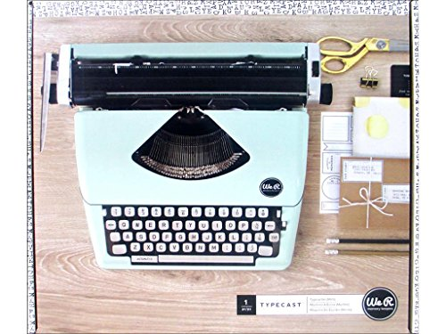 American Crafts 663062 Typecast Retro Typewriter by We R Memory Keepers | Mint