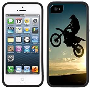 Dirt Bike Motorcross Handmade iPhone 5 5S Black Case