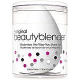 beautyblender Pure Single Sponge, (White) & beautyblender Original Sponge, (Pink) & beautyblender Solid Blendercleanser, 1oz