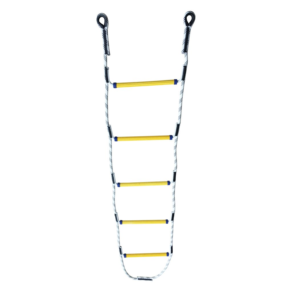 Aoneky 6.8 ft Nylon Climbing Rope Ladder for Kids or Adult - Playground Hanging Ladder for Swing Set - Tree Ladder Toy for Boys Children Aged 6-12 Years Old