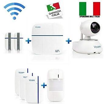 Kit antirrobo VCARE WiFi GPRS GSM dual-stream 866 MHz completo de ...