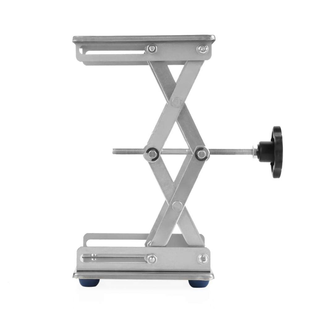 Stainless Steel Laboratory Lifting Platform Stand Scissor Rack 150150250mm-Lab & Scientific Supplies Glassware & Labware