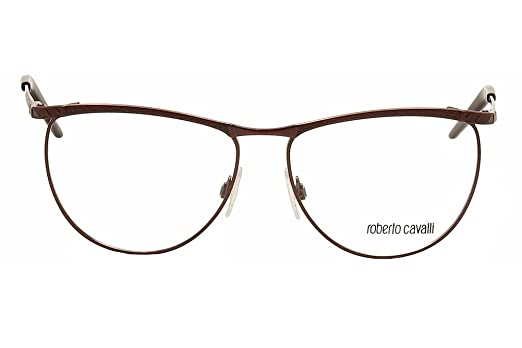 6c84550e36f Amazon.com  Roberto Cavalli Eyeglasses Buddleia RC0647 071 Purple Black  Optical Frame 57mm  Health   Personal Care