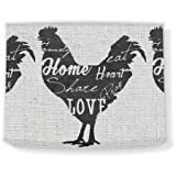 Love and Share Rooster III, 12'' x 10'' Lamp Shade