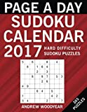 Page A Day Sudoku Calendar 2017: 365 Hard Puzzles (2017 Sudoku Calendar Books For Adults) (Volume 3)