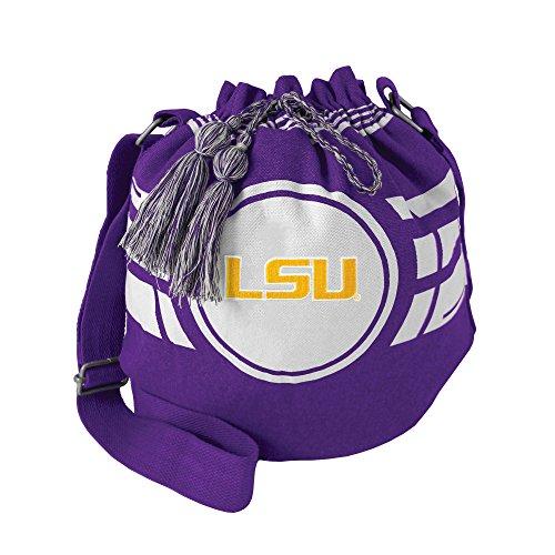- NCAA LSU Tigers Ripple Drawstring Bucket Bag