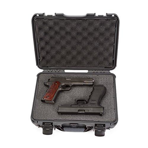 Nanuk Professional Hand Gun/Pistol Military Waterproof and Shockproof - Graphite