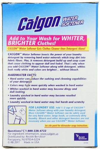 Calgon Water Softener Powder, 40-Ounce (Pack of 2) by Calgon (Image #1)