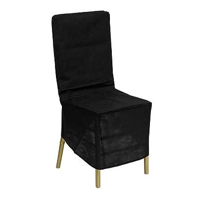 Flash Furniture Black Fabric Chiavari Chair Storage Cover: Kitchen & Dining