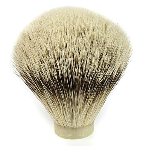 Silvertip Badger Hair Shaving Brush Knot (20mm x 63mm)