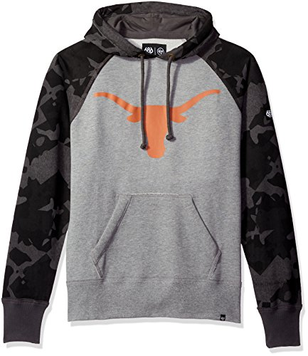 NCAA Texas Longhorns Men's Tundra Pullover Hoodie, X-Large, Texas (Texas Pullover Longhorns)