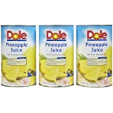Dole 100% Pineapple Juice - 46 oz - 3 pk