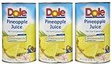 Dole 100% Pineapple Juice - 46 oz - 3 pk