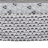 Lolli Living 121039 Grey Triangle Bed Skirt