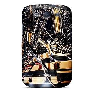 Pretty CxVcGTa8181kzFuO Galaxy S3 Case Cover/ Ancient Sailship Series High Quality Case