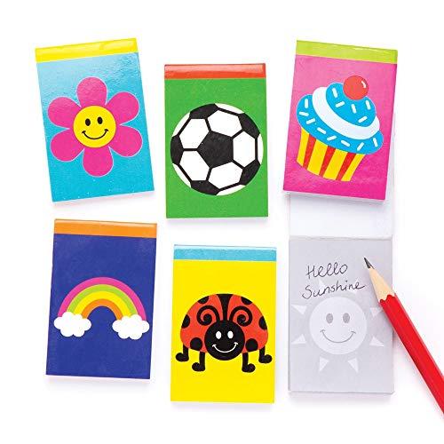 Baker Ross Novelty Notebooks (Pack of 12) Perfect