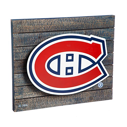 Montreal Canadiens LED Metal Wall Art (Sports Metal Art)