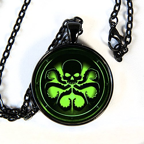 New HYDRA Green Pendant - Necklace, Marvels Agents of (Geek Superhero Costumes)