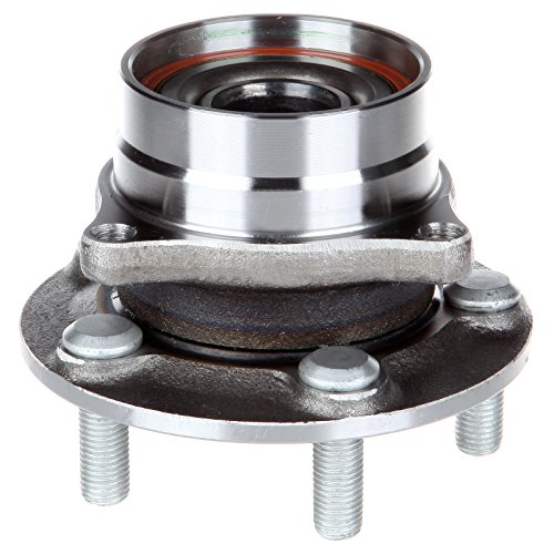 ECCPP Wheel Hub and Bearing Assembly Front 513265 fit 2004-2009 Toyota Prius Replacement for 5 lugs wheel hub no ABS 4 Bolt Flange ()