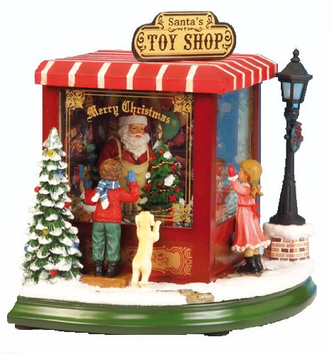 MusicBox Kingdom 52003 Toy Shop Music Box, Small by Musicbox Kingdom