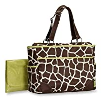 Carter's Fashion Tote Bag, Giraffe Print