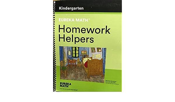 Eureka Math Homework Helpers Kindergarten: Tiah Alphonso