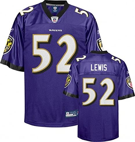 wholesale dealer 3f8fe 7ad5b Ray Lewis Baltimore Ravens NFL Youth Reebok Jersey: Amazon ...