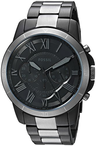- Fossil Men's FS5269 Grant Sport Chronograph Two-Tone Stainless Steel Watch