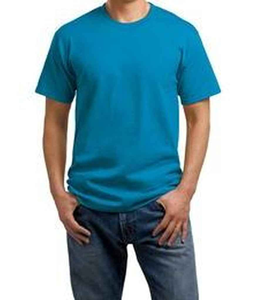 Port and Company PC54 Adults 54-oz 100/% Cotton T-Shirt Sapphire