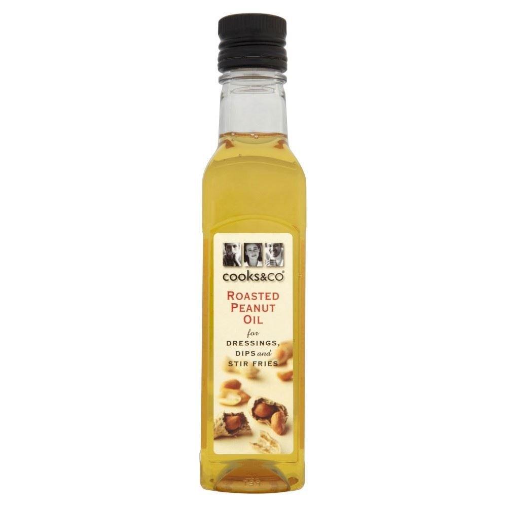 Cooks & Co Roasted Peanut Oil (250ml) - Pack of 2