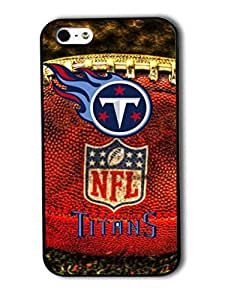 Tomhousomick Custom Design The NFL Team Tennessee Titans Case Cover For iPhone 5 5S Personality Phone Cases Covers