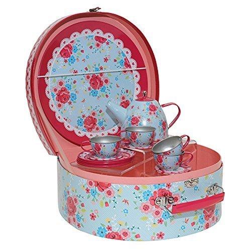 Toy Tea Sets For Boys : Childs tin teaset for children great tea set