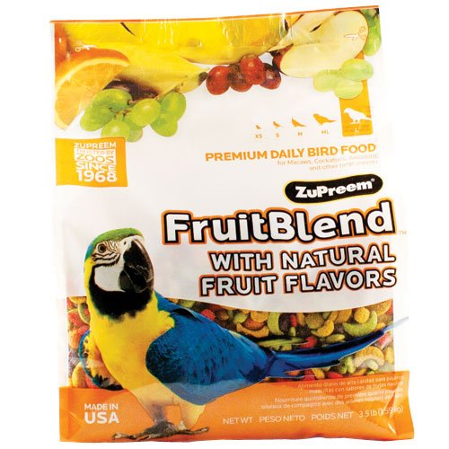 zupreem fruit blend large - 9