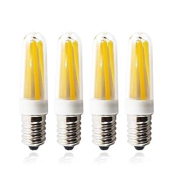 Filamento Bombilla LED Cálido Blanco Pequeña HANCLLED E14 3W qVUMSGpz