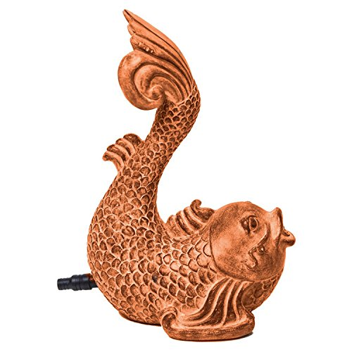 (POND BOSS SKOIT Koi Spitter, Terracotta)