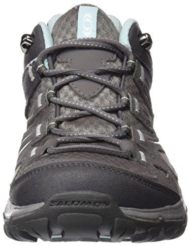 Salomon Damen L30893200 Trekking-& Wanderhalbschuhe Grau (Grey)