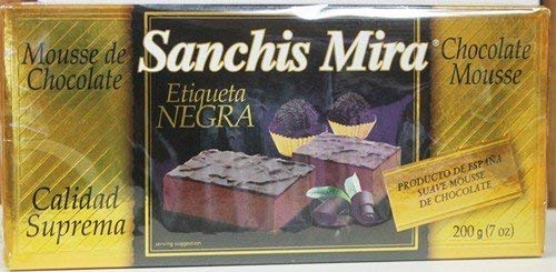 Amazon.com : Sanchis Mira Turron Mousse de Chocolate : Grocery & Gourmet Food