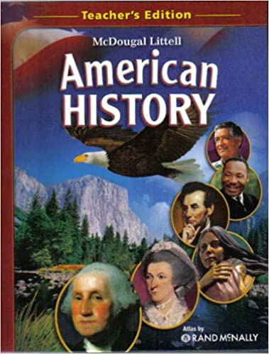 Amazon com: McDougal Littell American History, Teacher's