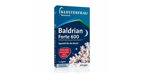 Baldrian Forte 30 tablets by Klosterfrau by Klosterfrau: Amazon.es: Salud y cuidado personal