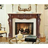 48'' Deauville Fireplace Mantel Finish: Unfinished