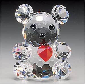"""CRYSTAL WORLD """"Mini Teddy w/ Red Heart"""""""