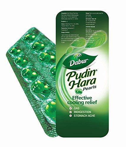 Dabur Pudin Hara Pearls 10 Capsules (Pack of 5)