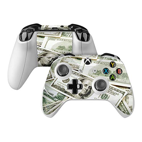 Benjamins Skin Decal Compatible with Microsoft Xbox One and One S Controller - Full Cover Wrap for Extra Grip and Protection from DecalGirl