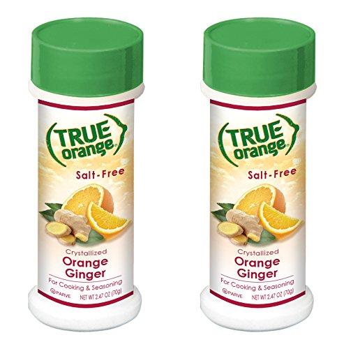 Lime Sauce Orange (True Orange Ginger Seasoning (2 pack) Natural Ingredients, No Salt, No Gluten)